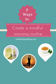 8 Ways to Create a Mindful Morning Routine What you do in the morning and your attitude sets the tone for the day. Creating a mindful morning routine with movement, meditation, and good nutrition will set Healthy Food List, Diet Food List, Healthy Mind, Healthy Habits, Get Healthy, Healthy Sleep, Breakfast Food List, Easy Healthy Breakfast, Health And Wellness