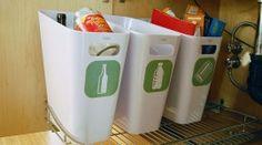 DIY recycle bins-- http://michellekaufmann.com/2008/11/green-it-yourself-recycling-center/