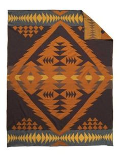 Pendleton Woolen Mills: Diamond Desert Knit Throw $308
