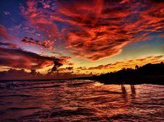 Mayan sunset  Photo by Heidi Reardon — National Geographic Your Shot