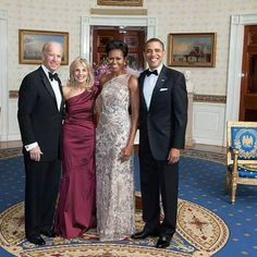 The Obamas and The Bidens