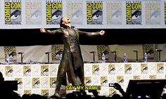 Because Loki conquered SDCC. | 51 Reasons 2013 Was The Best Year Ever To Be A Nerd