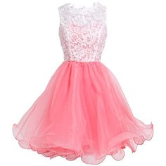 FAIRY COUPLE Princess Graduation Party Homecoming Dress D0250 ($40) ❤ liked on Polyvore featuring dresses, abiti, homecoming party dresses, graduation dresses, party dresses, holiday cocktail dresses and going out dresses
