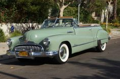1948 Buick Super Convertible Sedan, Model 56C