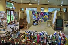 Art Studios for Your Home | ... how to talk and write about this process in your role as teacher
