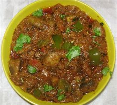 Mushroom Tikka Masala | http://spicycookery.com/mushroom-tikka-masala
