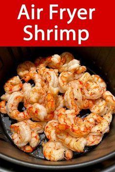 New Air Fryer Recipes, Air Frier Recipes, Air Fryer Dinner Recipes, Air Fryer Recipes Shrimp, Frozen Cooked Shrimp, Best Frozen Shrimp Recipe, Air Fried Food, Shrimp Recipes Easy, Recipes With Cooked Shrimp