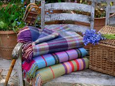 Check out our fabulous selection of #Throws and #Blankets.  All Irish made from 100% pure wool in a variety of yarns (mohair, lambswool, cashmere, merino etc.) in a selection of sizes and prices.  Woven in Co. Tipperary.
