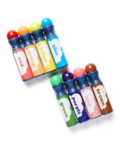 Another great find on #zulily! 8-Ct. Dab & Dot Markers by Dab and Dot Markers #zulilyfinds