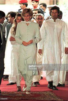 Princess Diana, Pakistan
