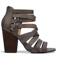 64c0a3f7636a Not Rated Women s Feelin Strappy Dress Sandals (Taupe)  Promheels  Zapatillas
