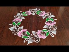 Easy rangoli simple rangoli Easy chukkala muggulu Latest rose flower kolams Thanks for watching 🙏 Please like . Rangoli Side Designs, Rangoli Designs Simple Diwali, Rangoli Simple, Free Hand Rangoli Design, Small Rangoli Design, Rangoli Patterns, Rangoli Designs With Dots, Rangoli With Dots, Dot Rangoli