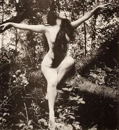 Annette Kellerman, the first woman to have a nude scene in a motion picture in the film, A Daughter of the Gods, 1916. She also invented the sport of synchronized swimming, and the one piece bathing suit. She was a vegetarian until she died in 1975. Mostly, she's an all over bad as woman and one of the first documented feminists.
