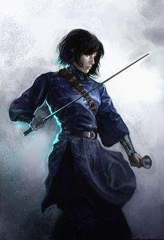 SABRIEL by Sebastian Ciaffaglione~~ young Kharis, right after she is taken from the Citadel.