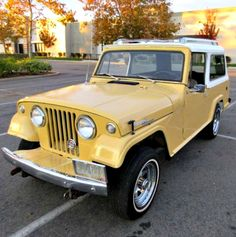 This 1968 Jeepster Commando  Maintenance/restoration of old/vintage vehicles: the material for new cogs/casters/gears/pads could be cast polyamide which I (Cast polyamide) can produce. My contact: tatjana.alic@windowslive.com