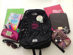 My school supplies