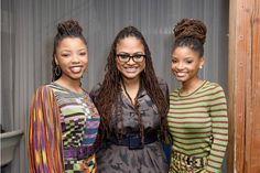 Ava DuVernay and Chloe Bailey Photos Photos: The Teen Vogue Summit LA: Keynote Conversation With 'A Wrinkle In Time' Director Ava Duvernay and Actresses Rowan Blanchard and Storm Reid Beautiful Black Girl, Black Girl Art, Black Girl Magic, Black Girls, Black Women, Beautiful Images, Gorgeous Women, Celebrity Outfits, Celebrity Pictures