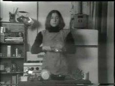 Martha Rosler, performance, Semiotics of the Kitchen, Parody of Julie Child's cooking programs. Seen at the Guggenheim Bilbao, Photomontage, Louise Lawler, Guggenheim Bilbao, Jewish Museum, Opus, California Art, Feminist Art, Art And Technology, Electronic Art