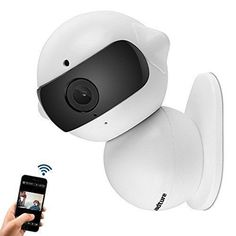 Wireless IP Camera Home Security Mini Robot Surveillance WiFi Camera & HD, Baby #Fuleadture