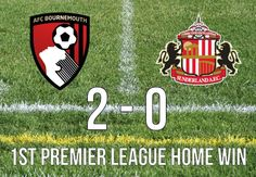 AFC Bournemouth Win First Premier League Home Game