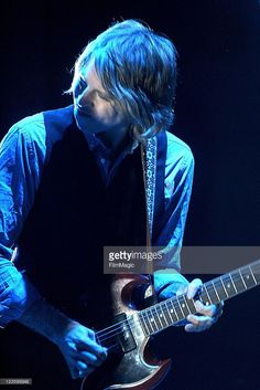 Singer/Guitarist Pat Sansone of Wilco performs during day 4 of the 2011 Sasquatch Music Festival at the Gorge Amphitheater on May 30, 2011 in George, Washington.