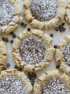 Muddy Buddy Peanut Butter Cookies Easy Cookie Recipes, Cookie Desserts, Sweet Recipes, Dessert Recipes, Dinner Recipes, Peanut Butter Recipes, Peanut Butter Cookies, Yummy Cookies, Holiday Cookies