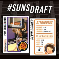 831116c38b0 With the 13th pick in the NBA Draft the Suns select Devin Booker!  SunsDraft