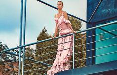 Vogue March 2018 Alicia Vikander by Steven Klein