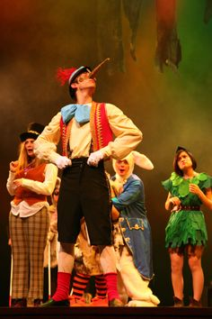 a vest and knickers will work  for Pinocchio if we can't find liederhosen - he needs a pointy hat