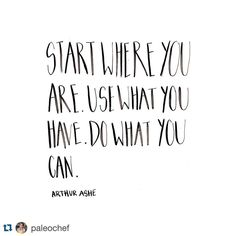 """""""Truth bomb via #Repost @paleochef ・・・ If you have the ability to make things happen then you should absolutely make things happen.  Pssssst.  You always…"""""""
