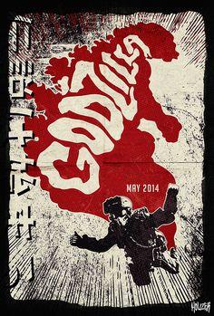 Godzilla by John 'Houzer' Smith