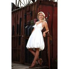 Mini Bubble Short Wedding Dress - Star Bridal Apparel