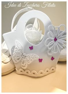 Baptism Favors, Gift Bags, Party Favors, Mixed Media, Cricut, Baby Shower, Gifts, Wedding, Design