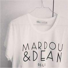 Back in stock - The iconic Mardou&Dean tee. Also lots of other goodies from the same brand Passion For Fashion, Dean, Goodies, My Style, Womens Fashion, Instagram, Tops, Sweet Like Candy, Gummi Candy