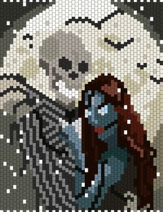 Real Jack And Sally bead pattern