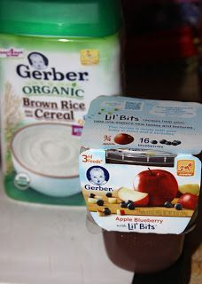 For the Love of Food: Homemade Teething Biscuits made with Gerber 3rd Foods® Lil' Bits® Baby Food
