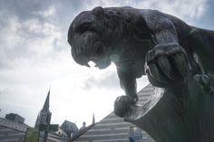 "Meine Lieblingsplätze in #Aachen - dazu gehört auch das Fabelwesen Bahkauv (""Bachkalb"") als Brunnenfigur am Büchel"