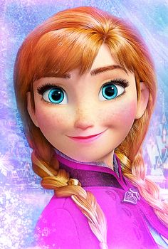 Anna. My new favorite princess.