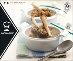 Rich in bone marrow, an authentic dish cooked with Lamb legs tastes the best at THALAPPAKATTI RESTAURANT  #Food #foodie #Thalappakatti #Chicken #Fish #Egg #Mutton #Restaurant #Soup
