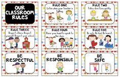 Whole Brain Teaching Printables |different variation - i like the idea of respect, safety, and kindness