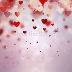 10x10ft Boken Hearts Valentine's ArtFabric Photography Backdrop D-4908 #Affiliate