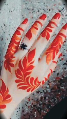 Mehndi Designs For Girls, Khafif Mehndi Design, Simple Arabic Mehndi Designs, Back Hand Mehndi Designs, Latest Bridal Mehndi Designs, Stylish Mehndi Designs, Full Hand Mehndi Designs, Henna Art Designs, Mehndi Designs For Beginners