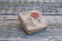 Szőlőmagolajos vörösboros szappan (100g) díszcsomagolással