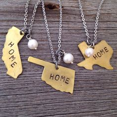 'Home' State and Pearl Necklace