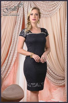 Vestido em jacquard com forro detalhado em renda - Kauly: http://www.gullislingerie.com.br/verao-2016-vestido-jacquard-forro-detalhado-renda-kauly