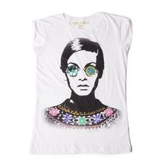 Trippy Twiggy Tee: http://shop.nylon.com/collections/whats-new/products/trippy-twiggy-tee #NYLONshop