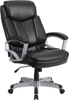 flash furniture extreme comfort leather executive office chair