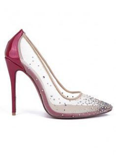 432c1d89057705 Women s Patent Leather Closed Toe with Hot Drilling Stiletto Heel High Heels  Prom Dresses Uk