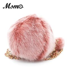 (28.08$)  Know more - http://air6e.worlditems.win/all/product.php?id=32764252624 - MSMO autumn and winter new liz lisa lovely plush hair ball solid color shoulder bag, hair ball handbag small round message bag
