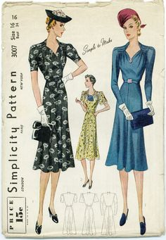 Free+Simplicity+Sewing+Patterns+Printable | 00 : Vintage Sewing Patterns | Free Worldwide Shipping |Out-of-print ...